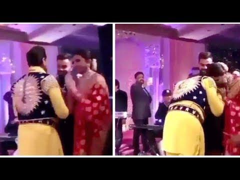 Anushka Sharma Touches Gurdas Maan Feet At Wedding Reception Delhi