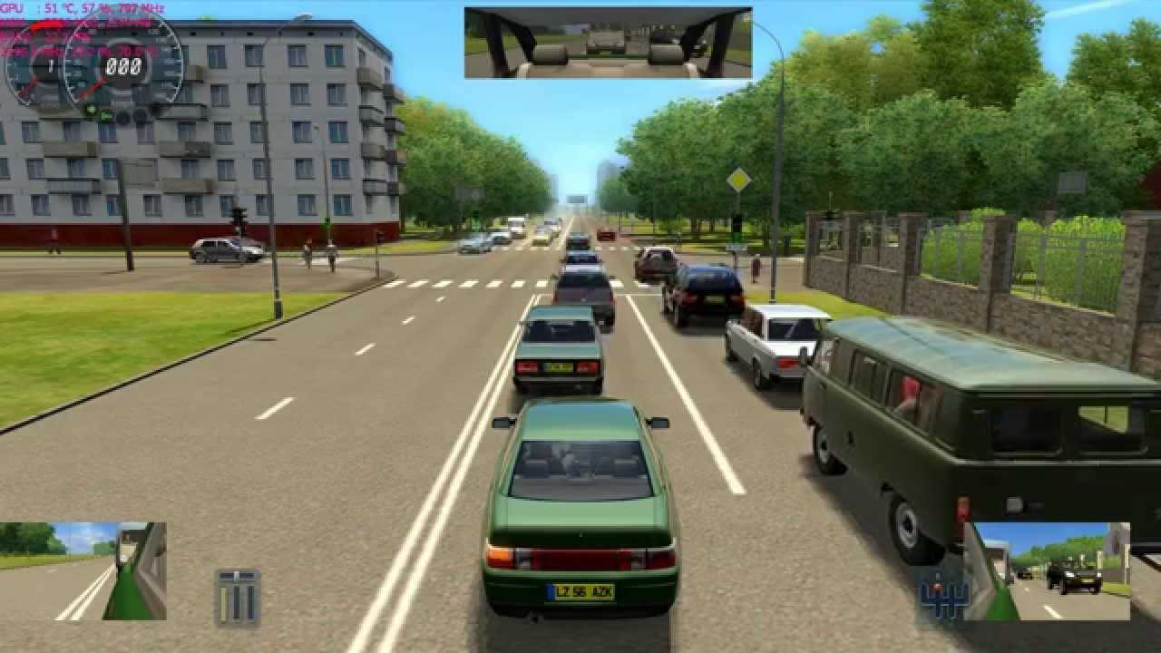 City Car Driving Simulator V 2 2 7 Gameplay Asus G750jw Nvidia Gtx 765m Youtube