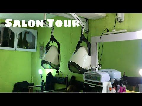#annoraworldunisexl #salontour #nigeria#rumuokwuta HAIR SALON TOUR: Annora's World Unsex Salon