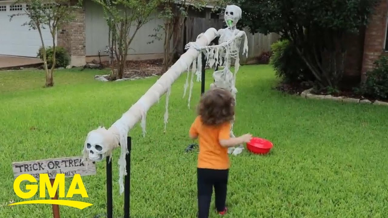 'Candy slide' is here and Halloween is saved