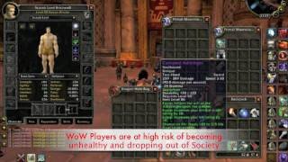SAD WORLD OF WARCRAFT ADDICTION MOVIE