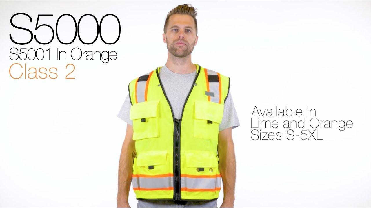 6dfa858f632 Professional Surveyors Vest- S5000 S5001