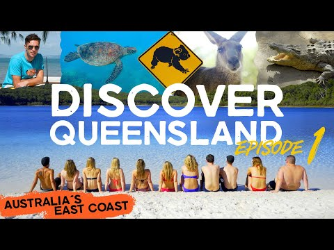 DISCOVER QUEENSLAND | Ep1 | Australia Backpacking East Coast