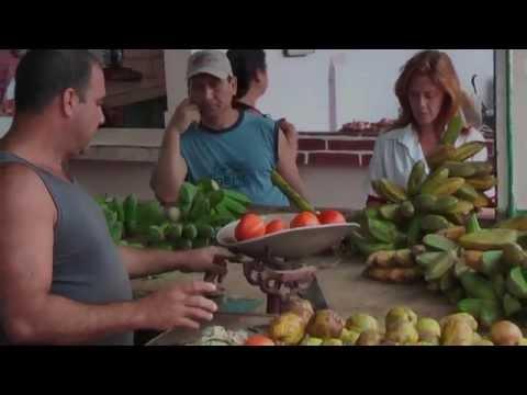 """Meat and vegetable market """"Mercado Agropecuario"""" in Sancti Spiritus Cuba"""