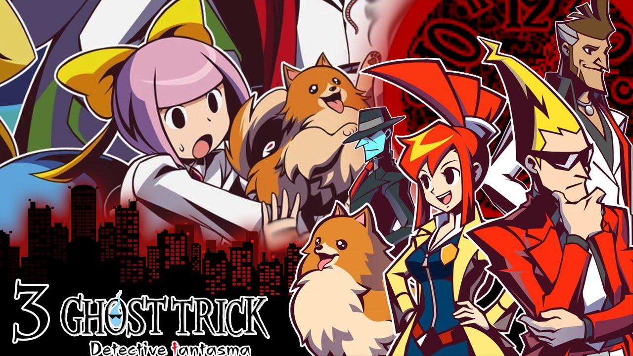 Resultado de imagen para Ghost Trick: Detective Fantasma
