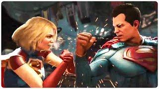 Injustice 2 Trailer 3 Shattered Alliances (2017) Justice League