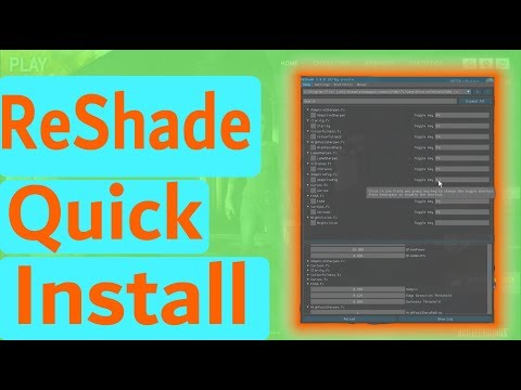 how to install reshade for escape from tarkov - cinemapichollu