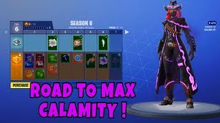 FORTNITE MOBILE / Road to max CALAMITY skin !! / Solo highlights ft WTF and Epic moments