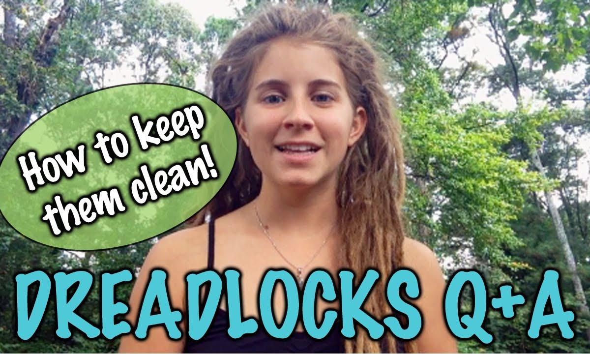 how to keep dreadlocks clean