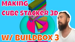 Game Dev Log: How to Make 3D Cube Stacker Game Buildbox Tutorial