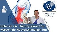 HWS-Syndrom: Ursachen verstehen & Symptome wie Nackenverspannungen, Schmerzen & Schwindel los werden