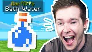 I Sold My Minecraft BATH WATER for MILLIONS! (Skyblock)
