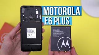Motorola E6 Plus - RECENZJA - WYMIENIALNA BATERIA! Ciekawa cena -TEST  / Mobileo [PL]