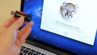 كيفية إنشاء للتمهيد Mountain Lion 10.8 USB تثبيت محرك الأقراص الإبهام