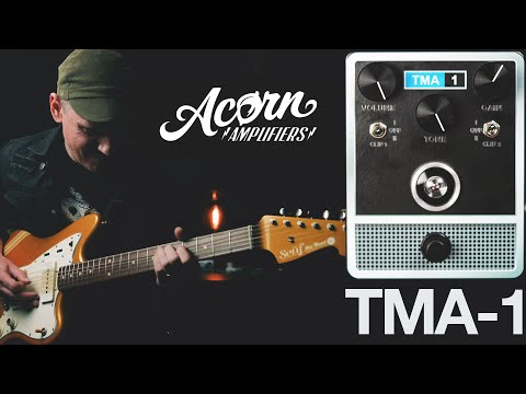 Demos in the Dark // Acorn Amplifiers TMA-1 // Fuzz Pedal Demo
