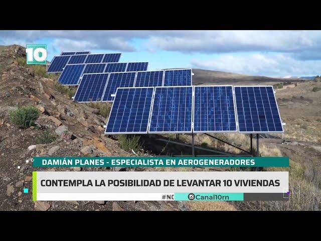 #Noticias10   Barrio sustentable en Bariloche