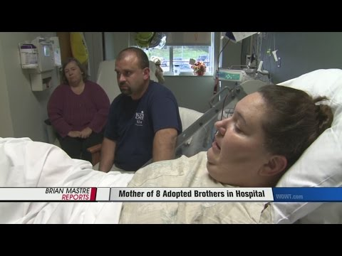 Mother of 8 Adopted Brothers in Hospital