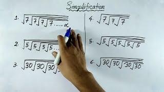 simplification short tricks in hindi | Simplification tricks