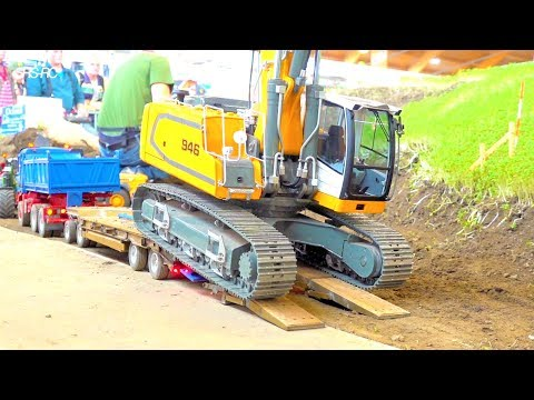 RC CONSTRUCTION EQUIPMENT // RC DIGGER // HEAVY HAULAGE RC TRUCK // HEAVY RC CONSTRUCTION-SITE