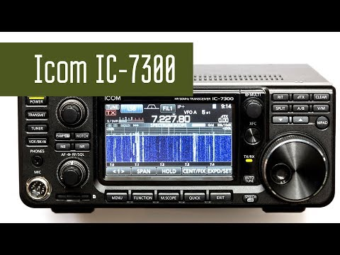 Repeat Icom IC-7300 Spectrum Scope/Waterfall Options by