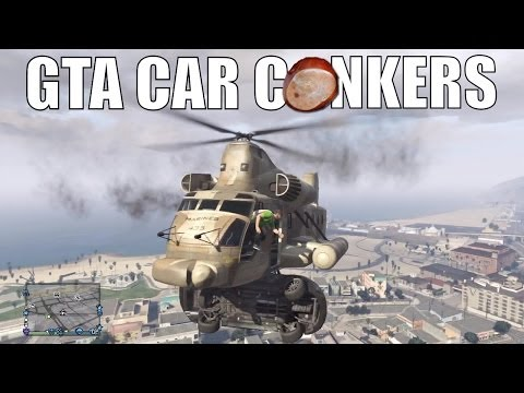 GTA Online: Car Conkers - Fun With Cargobob