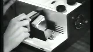 Kodak 300 Color Slide Projector Commercial 1957