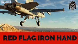 F/A-18C Red Flag Iron Hand