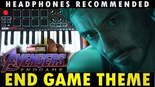 Marvel Studios - Avengers: Endgame Theme ( AkaiMpkMini Cover By Raj Bharath )