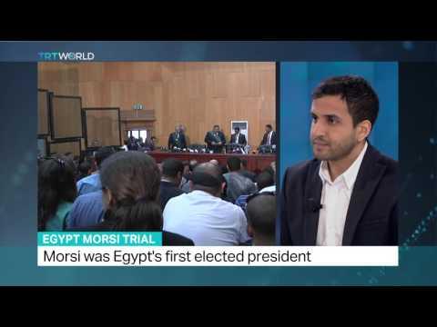 TRT World's Abubakr al Shamahi brings more on Morsi trial in espionage case