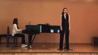 """I Dreamed a Dream """"Les Miserables"""" Екатерина Зацепина. ГИТИС"""