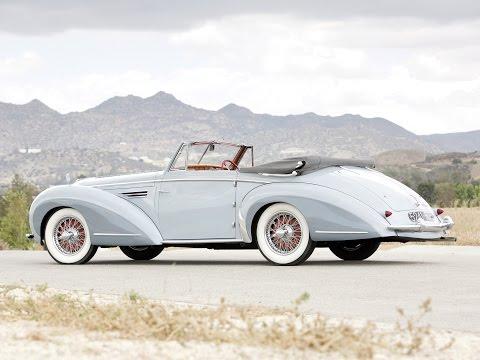 1951 Delahaye 135M Cabriolet by Chapron