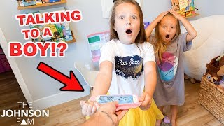 SISTERS GET GROUNDED FROM PHONE! 😲📲 Talking to a BOY?!