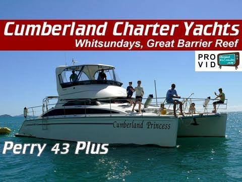 Whitsunday bareboats Cumberland Princess Perry 44 5 Powercat
