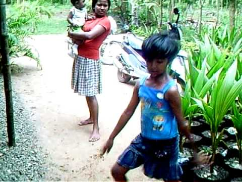 Sri Lanka Little Girl Funny Dance Medagama Chilaw Sri