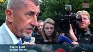 Andrej Babiš: Výkup vepřína v Letech má na starost ministr Dienstbier, není to můj úkol