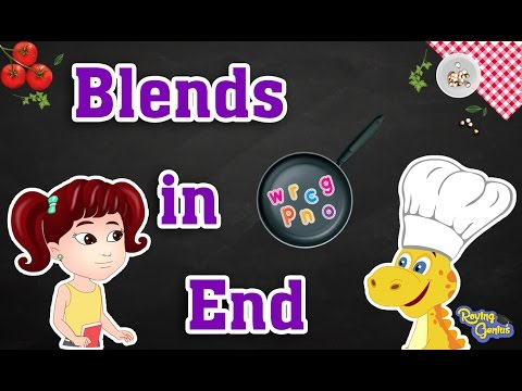 Learn To Blend | Ending Consonants Blends | English Phonics Learning For Kids | Part 2