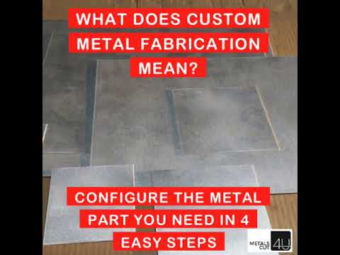 What Does Custom Metal Fabrication Mean?
