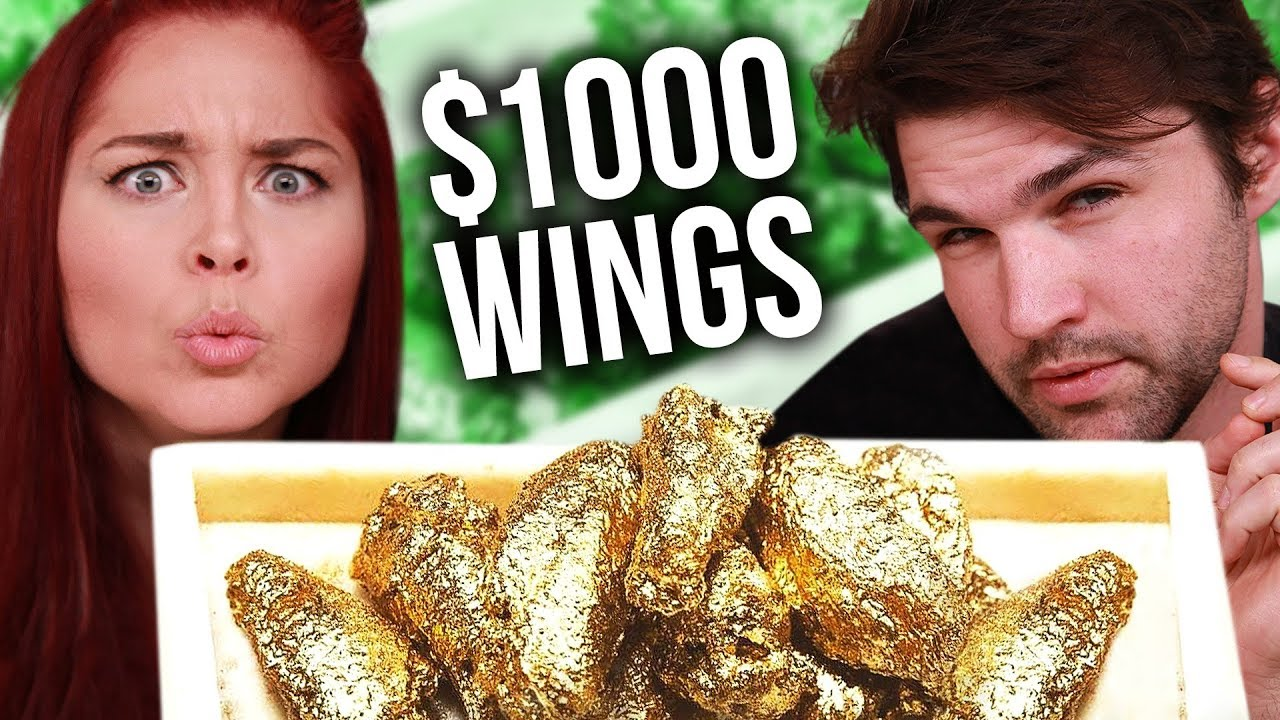 Recreating the $1000 24k GOLD Chicken Wings!
