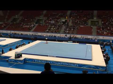 David Huddleston  floor , 2014 European Junior Artistic Gymnastics Championships