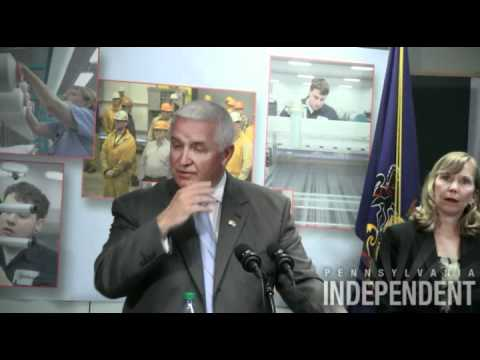 Gov. Tom Corbett press conference - June 12, 2012