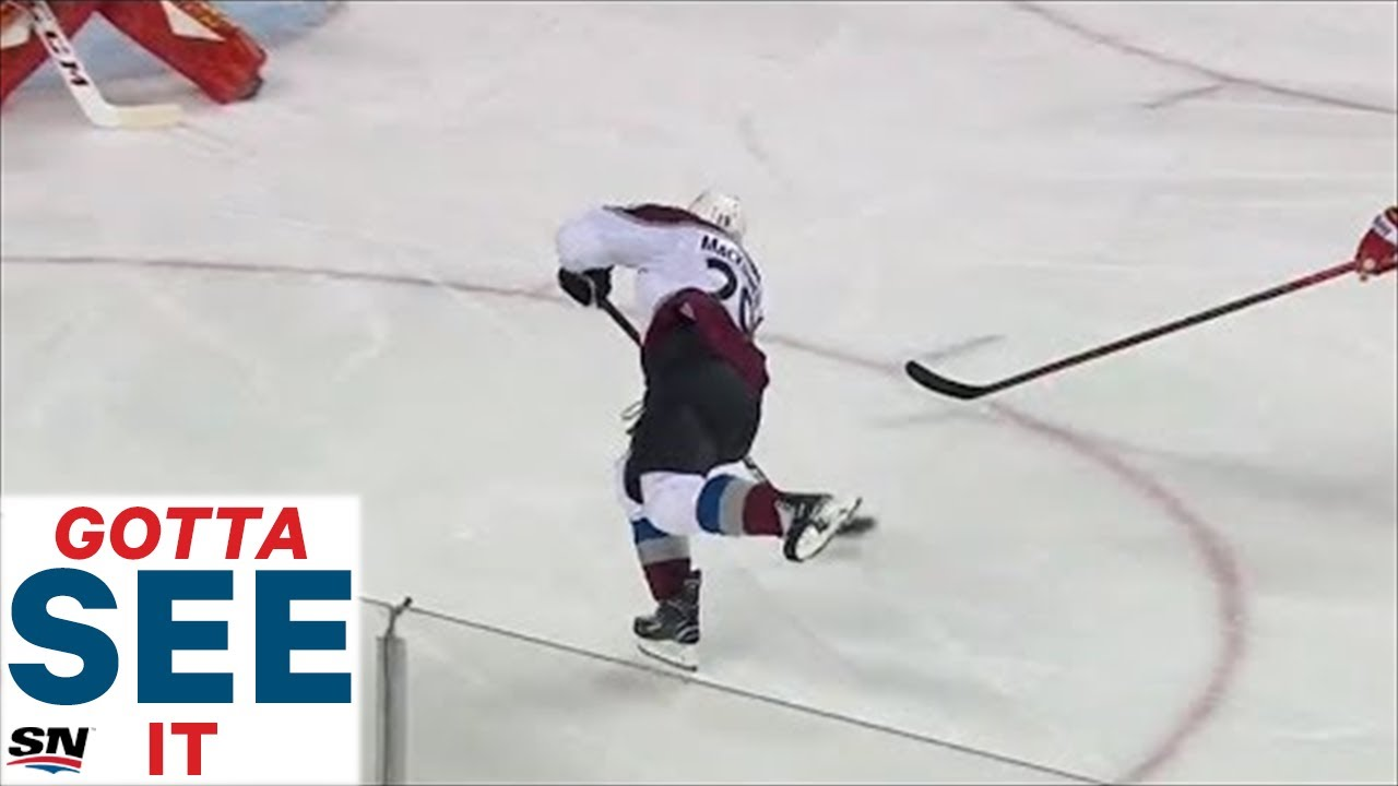 GOTTA SEE IT: Nathan MacKinnon Snipes Home OT Goal As Avalanche Stun Flames