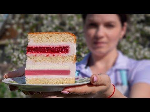 """🌸""""ЯГОДА-МАЛИНА""""🌸 торт, который стоит попробовать - Я - ТОРТодел!"""
