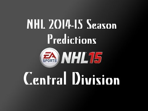 NHL 2014-2015 Season Predictions! Central Division (NHL 15 Commentary)