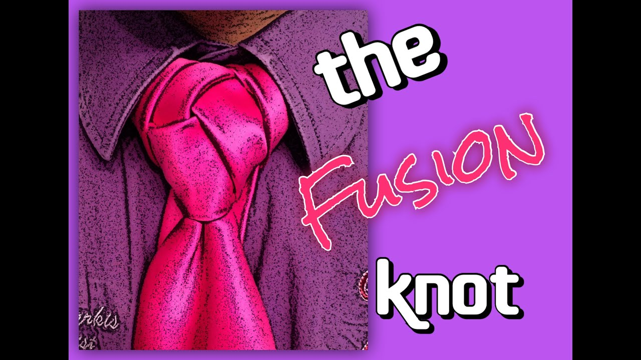 How to tie a tie the fusion knot youtube ccuart Choice Image