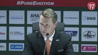 1878 TV | Pressekonferenz 23.12.2018 Augsburg-Ingolstadt 6:3