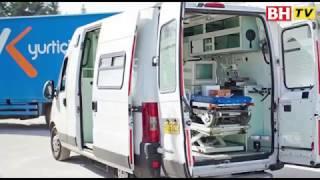 Konvoi ambulans sedia berlepas dari UK