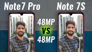 Redmi Note 7S vs Redmi Note 7 Pro Camera Test - NOT Worth Extra 3K??!!
