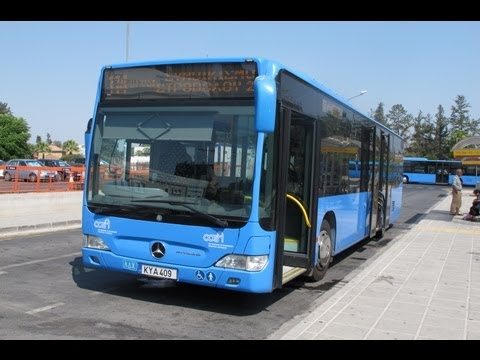 BUSES IN CYPRUS JUNE 2012