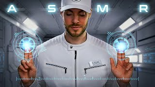ASMR Sleep Clinic in Outer Space - The Future of Sleep Technology [Sci-Fi]