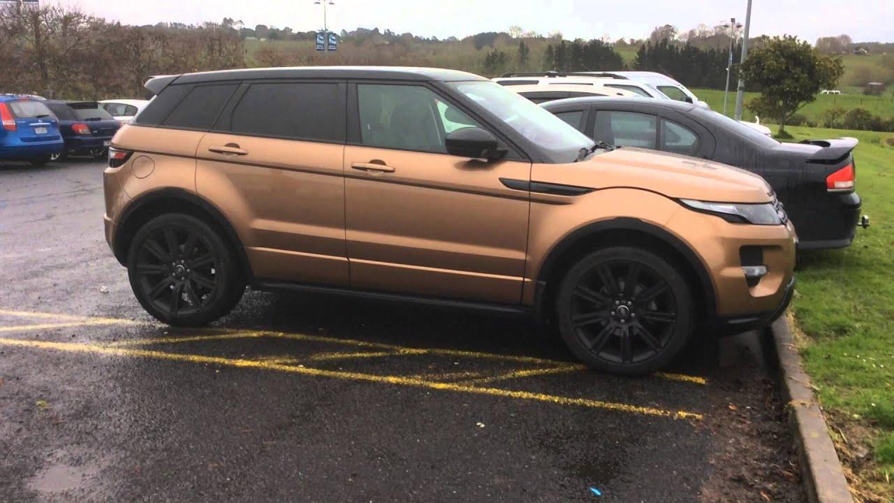 Range Rover Black >> Strange Rose Gold Range Rover - YouTube